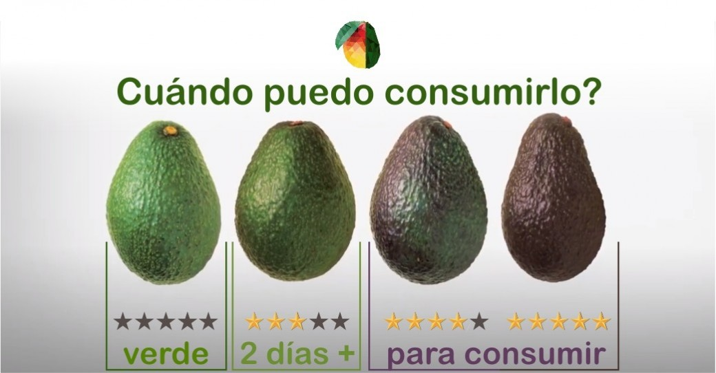 Optimal maturation of the avocado